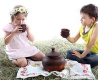 picknickstudio Royaltyfri Bild