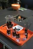 picknicktabell Royaltyfri Fotografi