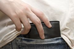 Pickpocket Royalty Free Stock Image