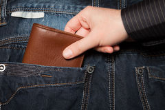Pickpocket photo stock