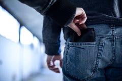 pickpocket Fotografia Stock Libera da Diritti