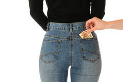 Pickpocketing Stock Image