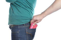 Pickpocketing Stock Photography