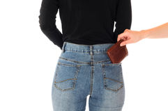 Pickpocketing Images stock