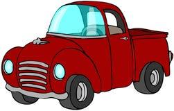 pickup czerwieni ciężarówka Obrazy Stock