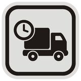 Pickup and hour, frame Royalty Free Stock Images