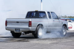 Pickup smoke show Royalty Free Stock Photo