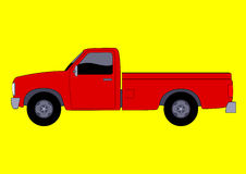 Pickup Truck. Illustration of a pick up truck Royalty Free Stock Photo