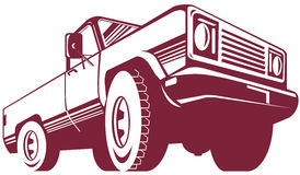 Pickup truck Royalty Free Stock Images