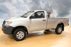 Pickup truck stock photo