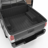 Pickup Truck Bed. 3D illustration Royalty Free Stock Photos