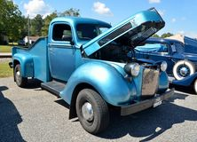 Pickup truck at car show Royalty Free Stock Images