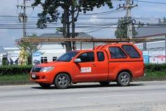 Pickup truck of CAT Telecom Public Company Limited Stock Image