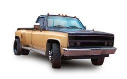 American pickup truck. White background. Pickup truck Chevrolet Silverado isolated on white background stock photo