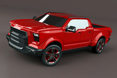 Pickup truck concept Stock Photos