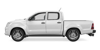 Pickup Truck Isolated Stock Images
