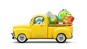 Pickup truck royalty free illustration