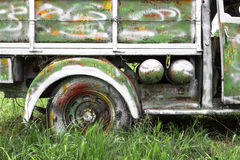 Pickup truck painting Stock Image