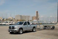 Pickup truck in Texas Royalty Free Stock Photo