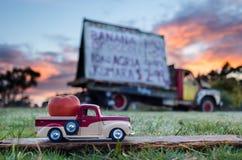 Pickup Truck Tomato Royalty Free Stock Photo