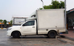 Pickup truck transport Stock Image
