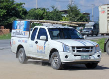 Pickup truck of Triple T Broadband company Stock Image