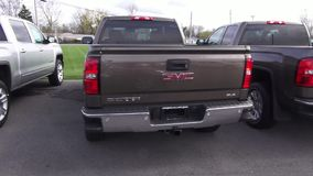 Pickup Trucks, Dealership, For Sale, New and Used stock video