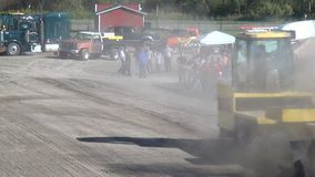 Pickup Trucks, Tractor Pull, Motorsports stock video footage