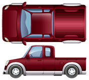 A pickup vehicle Royalty Free Stock Images