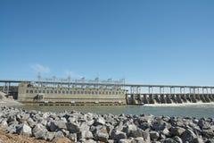 Pickwick Hydroelectric Power Dam. Stock Photos