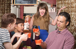 Picky Customers Stock Image