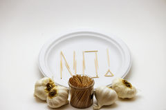 Picky Eater - Garlic Royalty Free Stock Photography
