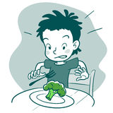 Picky eater Stock Images