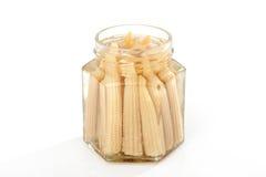 Picled corns Royalty Free Stock Photo