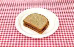 picnic ζελατίνας σταφυλιών σάν&t Στοκ εικόνα με δικαίωμα ελεύθερης χρήσης