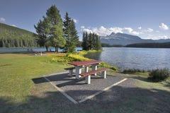 picnic θέση θαυμάσια στοκ εικόνες