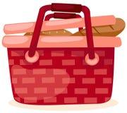 picnic καλαθιών απεικόνιση αποθεμάτων