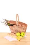 picnic καλαθιών στοκ φωτογραφίες με δικαίωμα ελεύθερης χρήσης
