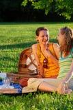 picnic κοριτσιών στοκ εικόνες
