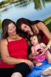 picnic μωρών στοκ εικόνα