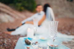 picnic νησιών παραλιών canary cofete de fuerteventura playa Ισπανία Στοκ Φωτογραφία
