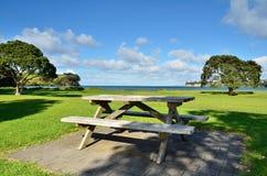 picnic πάγκων Στοκ φωτογραφίες με δικαίωμα ελεύθερης χρήσης