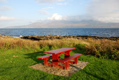 picnic περιοχής Στοκ Φωτογραφίες