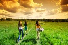 picnic φίλων στοκ φωτογραφία με δικαίωμα ελεύθερης χρήσης