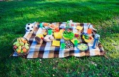picnic χωρών Στοκ Φωτογραφία
