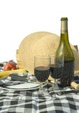 Picnic. Isolated picnic items Royalty Free Stock Photo
