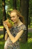 On picnic Royalty Free Stock Photo