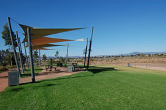Picnic area. Neat town, South Australia Stock Photography