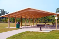 Picnic area Royalty Free Stock Photos