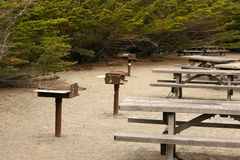 Picnic area Stock Images